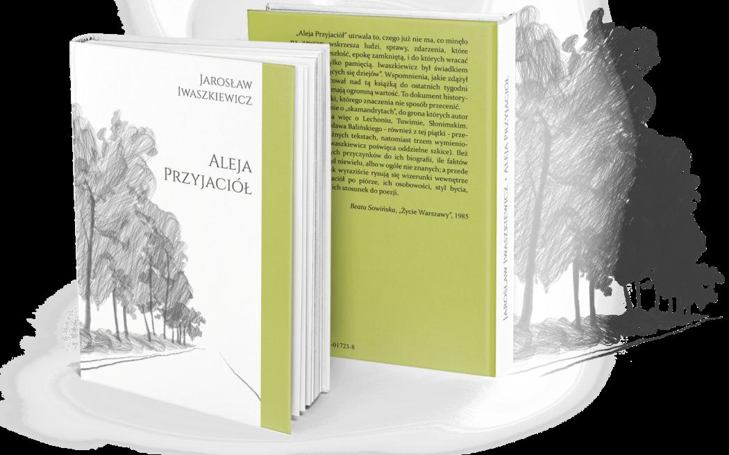 AlejaPrzyjaciol Projekt okładki książki