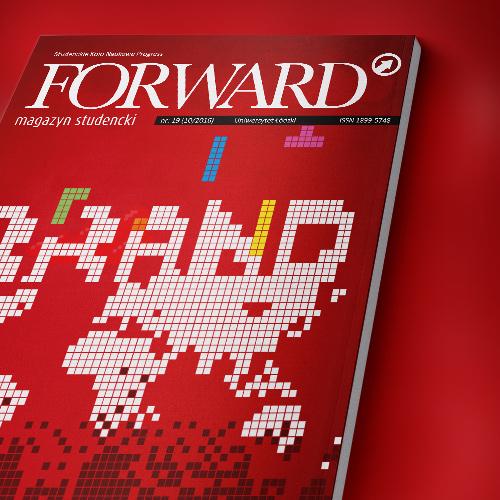 Magazyn Forward 2016 10 okładka