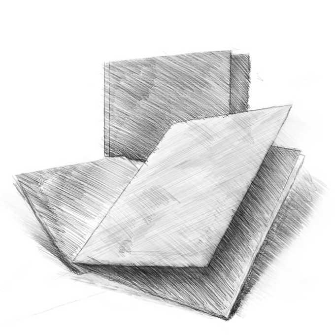 druk foldery szkic
